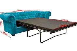 imperial 2 sofa bed ocean FAB