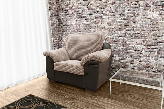 Amy armchair cov-metr brown-brown