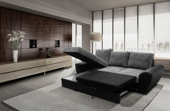 gianni left sofa bed bl-grey FAB cobr-metro (1)
