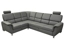 san diego left corner sofa bed grey PU