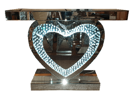 heart console table