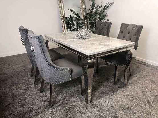 Lew marble dining table