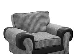 tango armchair bl-grey fullback