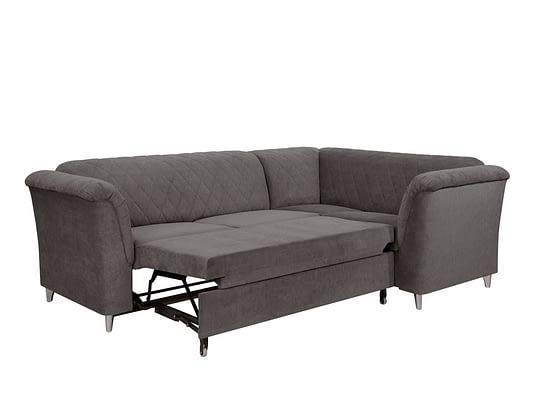 Lotos Sofa Bed 2cr1 Right Corner Graceland Graphite